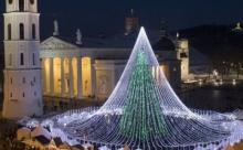 Новогодние деревья в разных странах