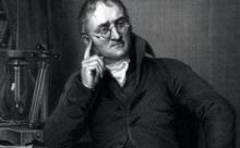 Отец современной атомной теории Джон Дальтон