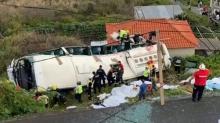 В Португалии перевернулся автобус с туристами. 28 человек погибли