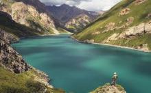 Бездонное озеро Кок-Коль