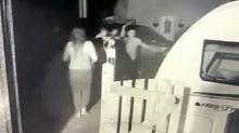 Мужчина защитил свою машину от банды воров с мачете