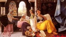 Гарем: красивые рабыни, хотевшие стать женами султанов, много учились