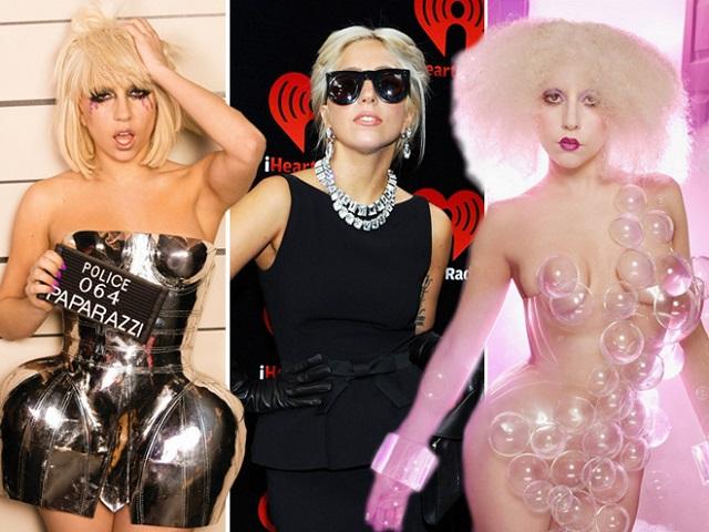 Как менялась Леди Гага за время своей карьеры