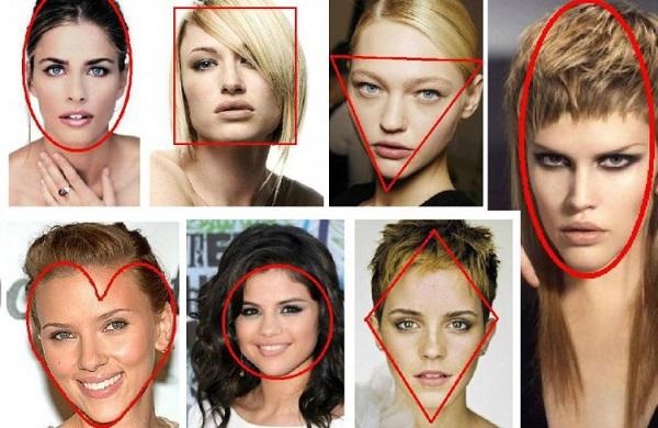 Варианты причесок для определенной формы лица
