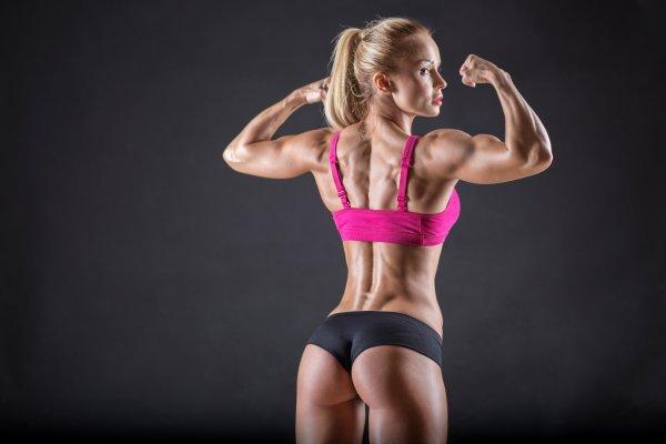 Красивое тело с помощью стероидов
