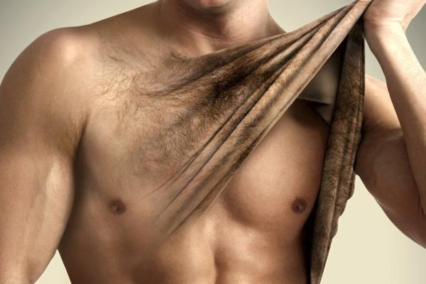 Последний писк мужской моды - депиляция волос на груди