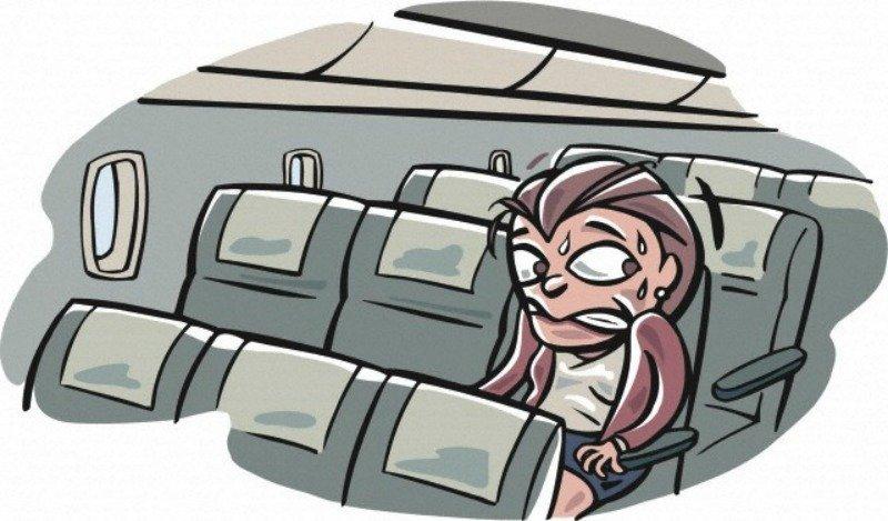 Не дайте воздушной болезни испортить вам перелет
