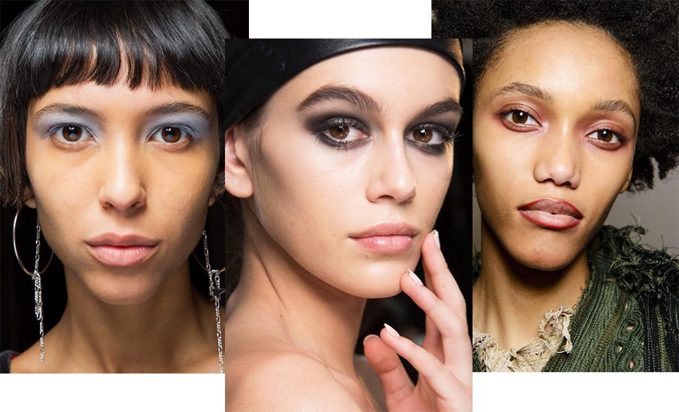 Модный макияж осени-зимы 2018