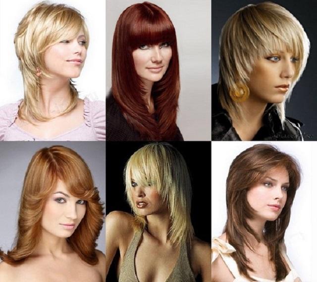 Четыре типажа для окрашивания волос
