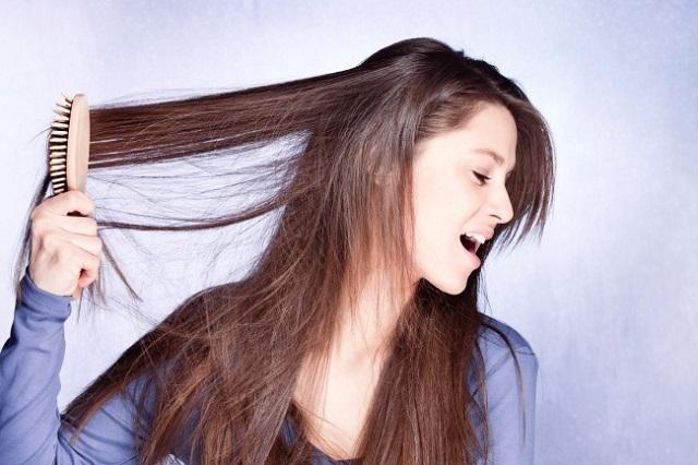 Здоровье волос зависит от... расчески