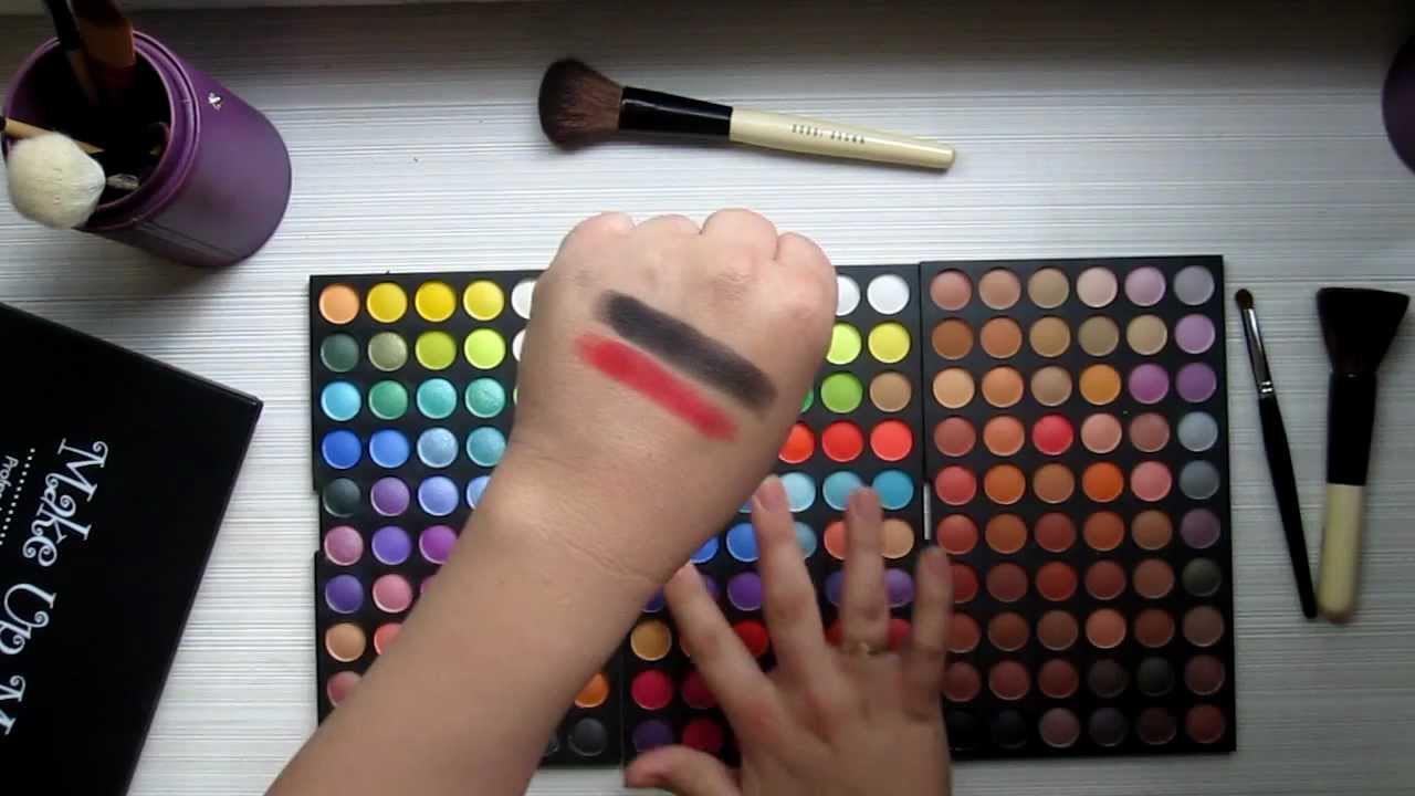 Цветовая палитра вашей косметички