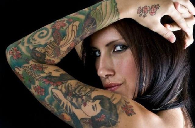 Нательная живопись. Модные татуировки