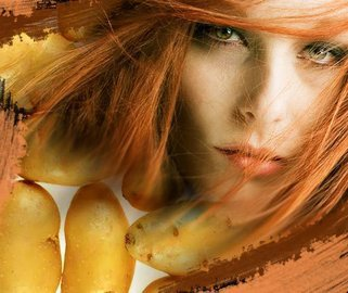 Картофель во благо или помощник в уходе за волосами