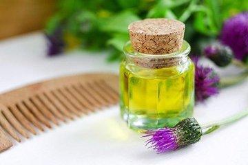 Репейное масло для волос: инструкция по применению