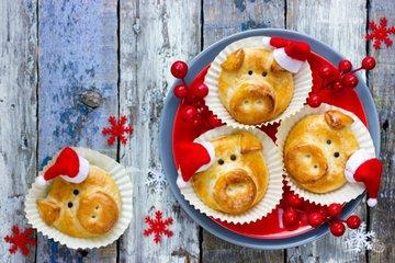 Новогодний стол в год Свиньи: какие блюда приготовить