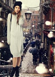 Мягкие, пушистые, теплые - стильный зимний трикотаж