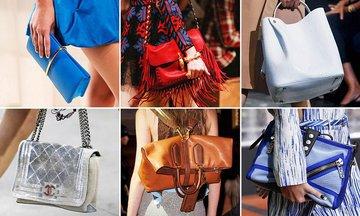 Дамская сумочка: лето - время, когда эксперименты будут уместны