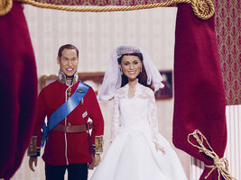 Кен и Барби по-королевски