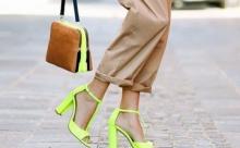 Модные туфли сезона лето-осень 2019