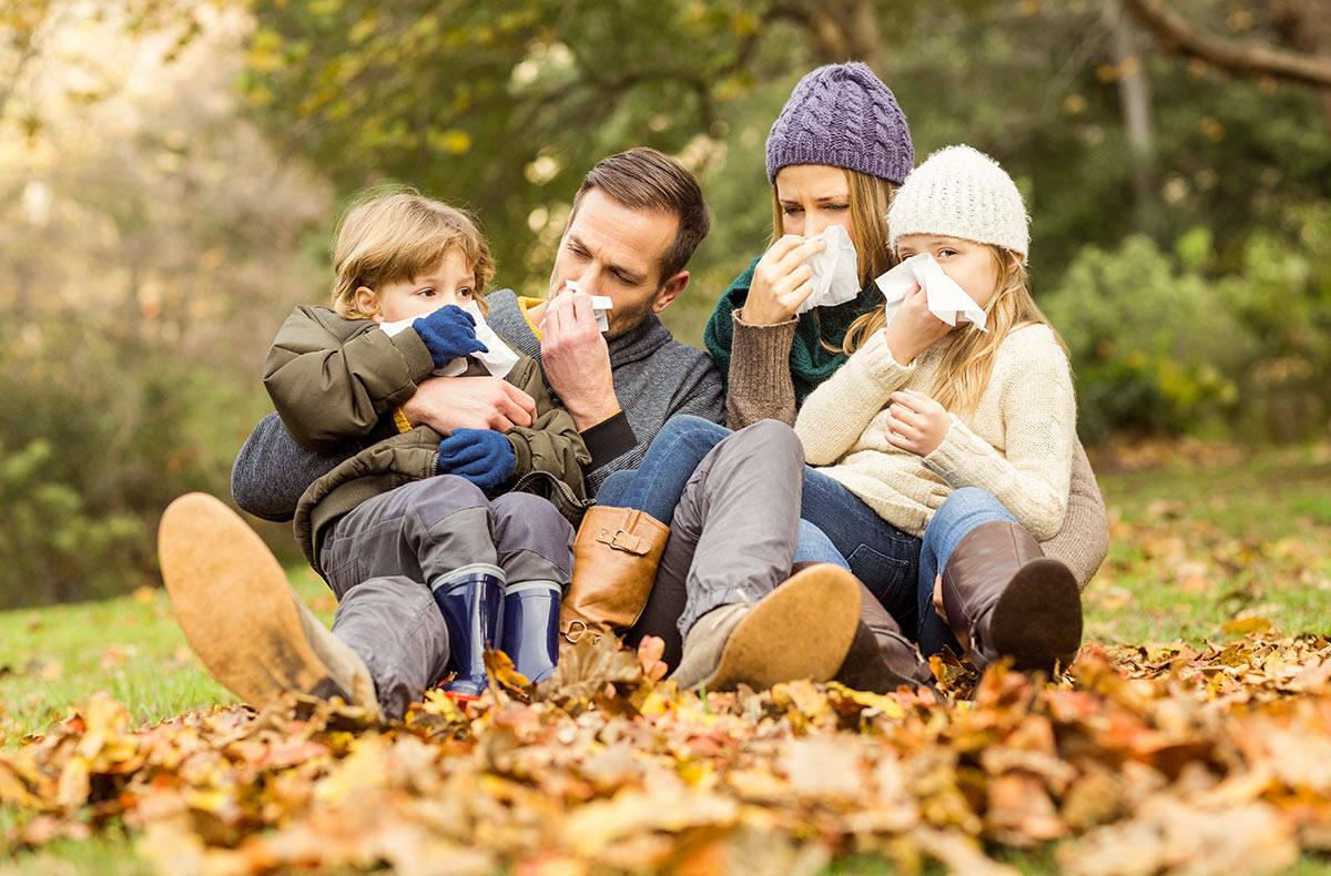 Осень: как уберечься от простуды