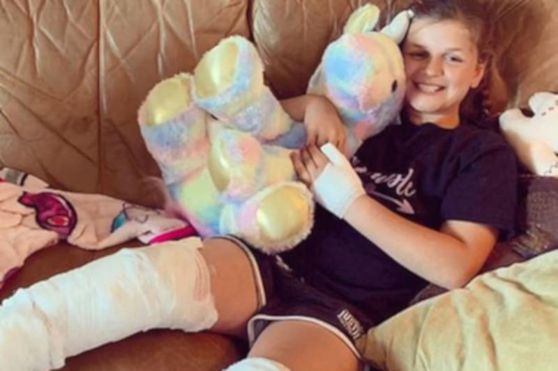 Во Флориде акула напала на девочку в её день рождения
