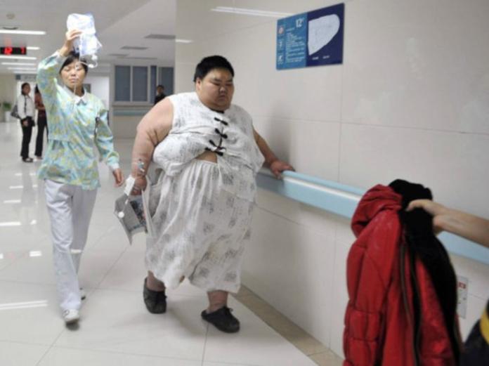 Житель Китая похудел на 142 килограмма