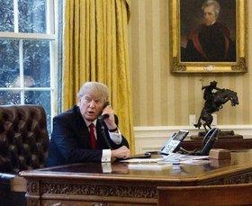 Трамп рассекретил звонок с поздравлением Путина