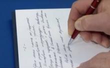 О чем чиновники пишут на совещаниях у президента