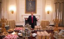Трамп устроил званный ужин с 300 гамбургерами