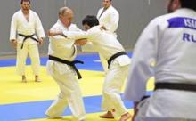 Снят момент травмирования Путина на тренировке