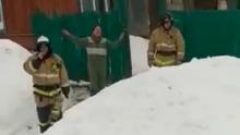 """Пожарные отказались тушить """"горящую душу"""""""