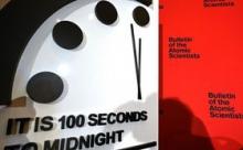 """Часы Судного дня """"подошли"""" вплотную к ядерной катастрофе"""