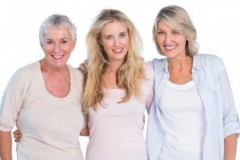 До 90 лет чаще доживают высокие и стройные женщины