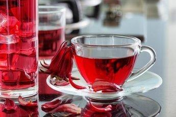 Чай каркаде сохраняет зрение и выводит токсины