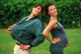 Делить с мужем и горе, и радость, и...беременность