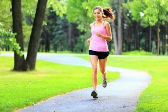 Бег улучшает здоровье и настроение