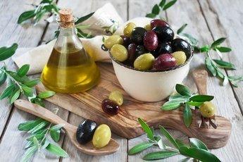 Четыре главных полезные свойства оливок