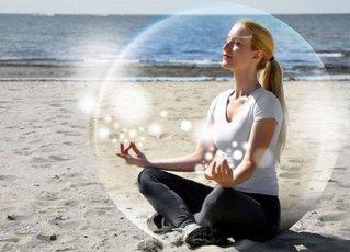 Медитация облегчает боль