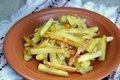 Четыре продукта, несовместимые с жареной картошкой
