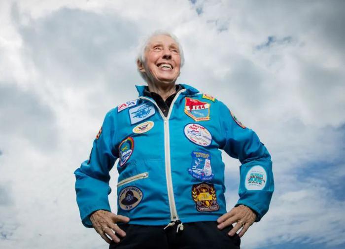 A Blue Origin realiza o sonho para americana de 82 anos