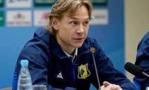 URF nomeou o novo técnico da seleção russa de futebol