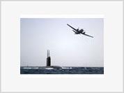Submarino norte-americano em Cabo Verde