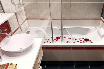 Простой способ, сделать маленькую ванну просторной