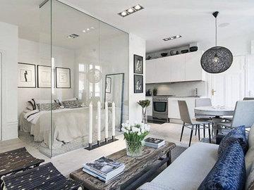 Скандинавский стиль: дизайн проект 3-комнатной квартиры