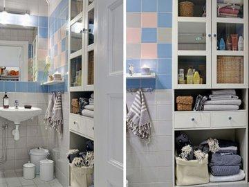 Идеи для хранения в ванной комнате