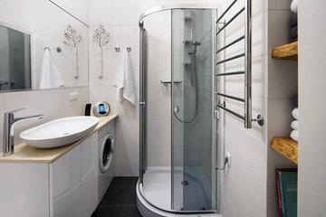Дизайн маленькой ванной комнаты: три лайфхака