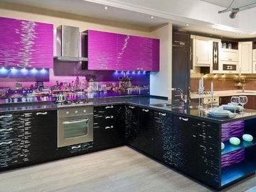 Выбираем уникальный 3D фасад для кухни
