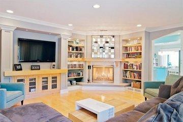 Где и как расположить телевизор в гостиной