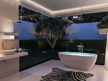 Модные тенденции в оформлении ванной комнаты