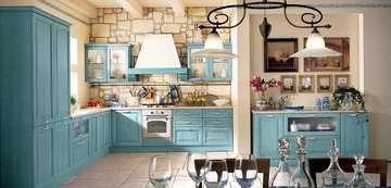Кухня в стиле прованс: впускаем в интерьер лето